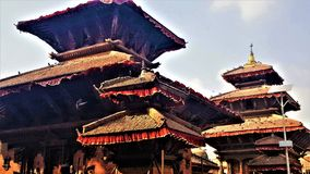 Arquitetura de Nepal do quadrado de Durbar fotografia de stock royalty free
