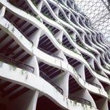 arquitetura de ondulação Foto de Stock Royalty Free