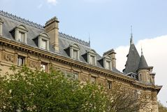 Arquitetura de Paris Fotografia de Stock