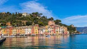 Arquitetura de Portofino, Itália Foto de Stock Royalty Free