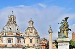 Arquitetura de Roma Fotografia de Stock Royalty Free