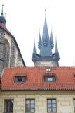 Arquitetura de Praga velha foto de stock royalty free