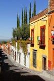 Arquitetura de San Miguel mim Fotografia de Stock