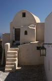 Arquitetura de Santorini Foto de Stock