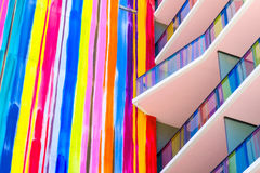 Arquitetura de SLS Miami Brickell imagem de stock royalty free