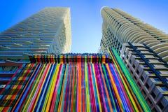 Arquitetura de SLS Miami Brickell fotos de stock royalty free