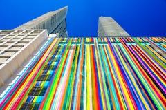 Arquitetura de SLS Miami Brickell imagens de stock