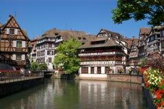 Arquitetura de Strasbourg Foto de Stock Royalty Free