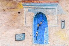 Arquitetura de Tangeir, Marrocos fotos de stock