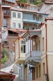 Arquitetura de Tbilisi imagens de stock