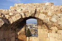 Arquitetura de Tripoli imagem de stock