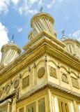 Arquitetura de um monastério ortodoxo velho foto de stock royalty free