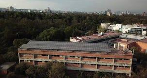 Arquitetura de UNAM, Instituto de Ecologia, LANCIS, Instituto de biologia, jardim botânico, reserva ecológica video estoque