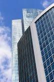 Arquitetura de vidro moderna. Fotos de Stock