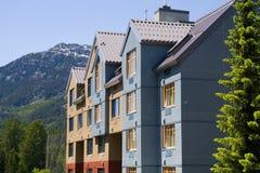 Arquitetura de Whistler imagem de stock royalty free