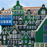 Arquitetura de Zaandam Foto de Stock