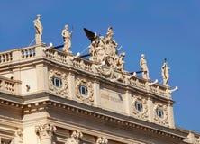 A arquitetura detalha Trieste Imagens de Stock Royalty Free