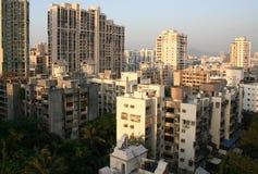 Arquitetura do arranha-céus e do highrise Foto de Stock