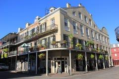 Arquitetura do bairro francês Imagens de Stock Royalty Free