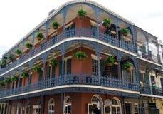 Arquitetura do bairro francês de Nova Orleães Imagem de Stock Royalty Free