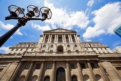 Arquitetura do Banco da Inglaterra, Londres Imagens de Stock