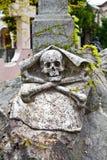 Arquitetura do cemitério - Europa Fotografia de Stock
