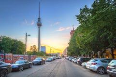 Arquitetura do centro da cidade em Berlim, Alemanha Imagens de Stock Royalty Free