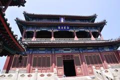 arquitetura do chinês do tradional Fotografia de Stock