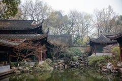 Arquitetura do chinês tradicional e casa de chá imagem de stock