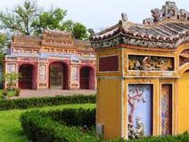 Arquitetura do clássico de Vietnam fotografia de stock