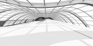 Arquitetura do corredor Imagens de Stock Royalty Free