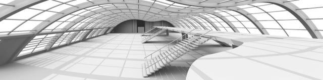 Arquitetura do corredor Imagem de Stock