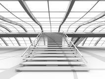 Arquitetura do corredor Imagens de Stock