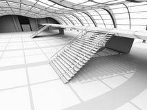 Arquitetura do corredor ilustração stock