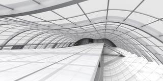 Arquitetura do corredor Fotografia de Stock
