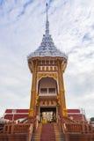Arquitetura do crematório tailandês fotografia de stock