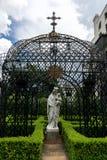Arquitetura do distrito do jardim de Nova Orleães Imagens de Stock