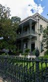 Arquitetura do distrito do jardim de Nova Orleães Foto de Stock
