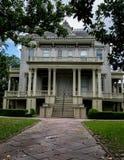 Arquitetura do distrito do jardim de Nova Orleães Fotos de Stock Royalty Free
