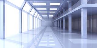 Arquitetura do escritório Fotos de Stock Royalty Free