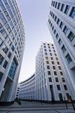 Arquitetura do escritório de cidade de Moscou Foto de Stock Royalty Free
