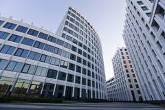 Arquitetura do escritório de cidade de Moscou Fotografia de Stock