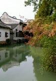 Arquitetura do estilo chinês Foto de Stock Royalty Free