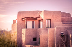 Arquitetura do estilo de Adobe Foto de Stock Royalty Free