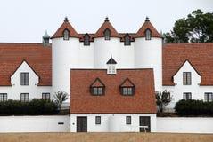 Arquitetura do estilo de Normandy fotos de stock
