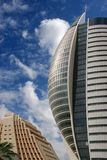Arquitetura do futuro. imagem de stock royalty free