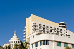 Arquitetura do hotel de Miami Imagens de Stock