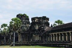 Arquitetura do Khmer da dinastia da cultura da cidade de Angkor fotografia de stock royalty free