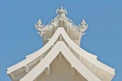 Arquitetura do khun do rong do wat Fotografia de Stock Royalty Free