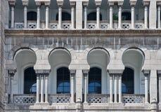 Arquitetura do Moorish em malaysia fotografia de stock royalty free